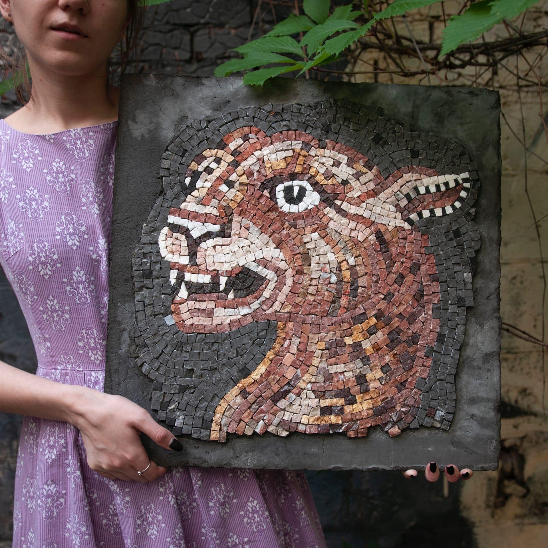 курс римская мозаика